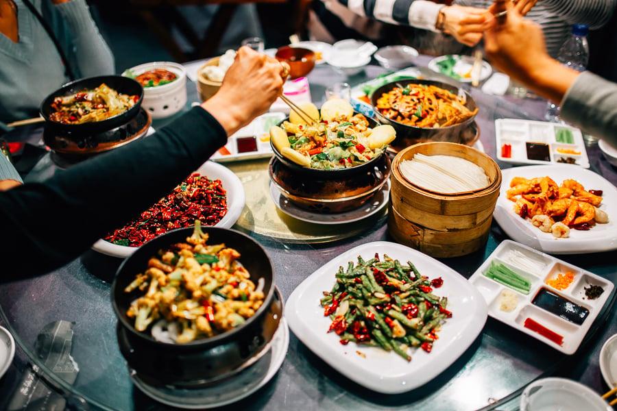 vivre à Beijing manger de la nourriture chinoise