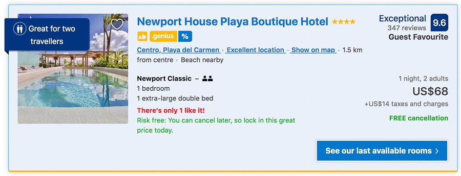 newport house where to stay in playa del carmen
