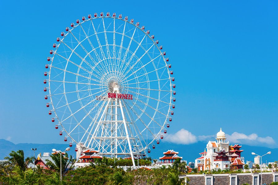 things to do in danang ferris wheel