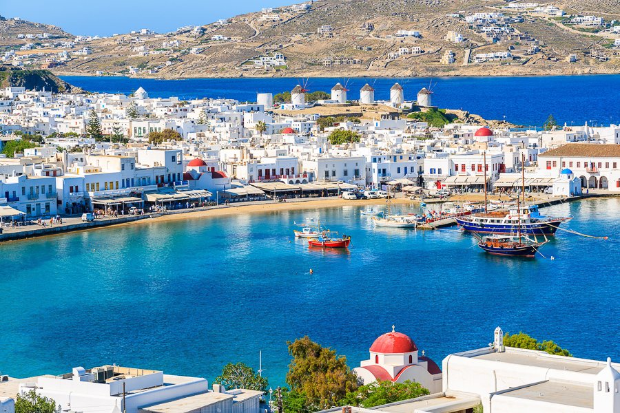 visit the port things to do in mykonos