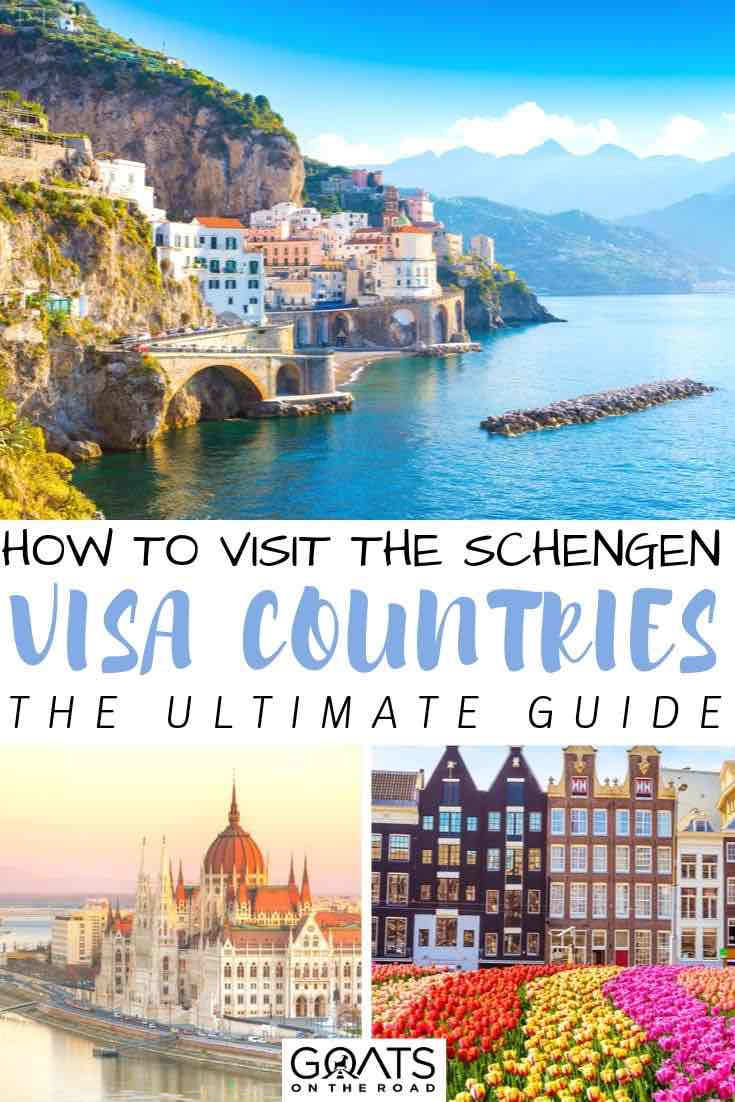 Italy with text overlay how to visit the schengen visa countries the ultimate guide