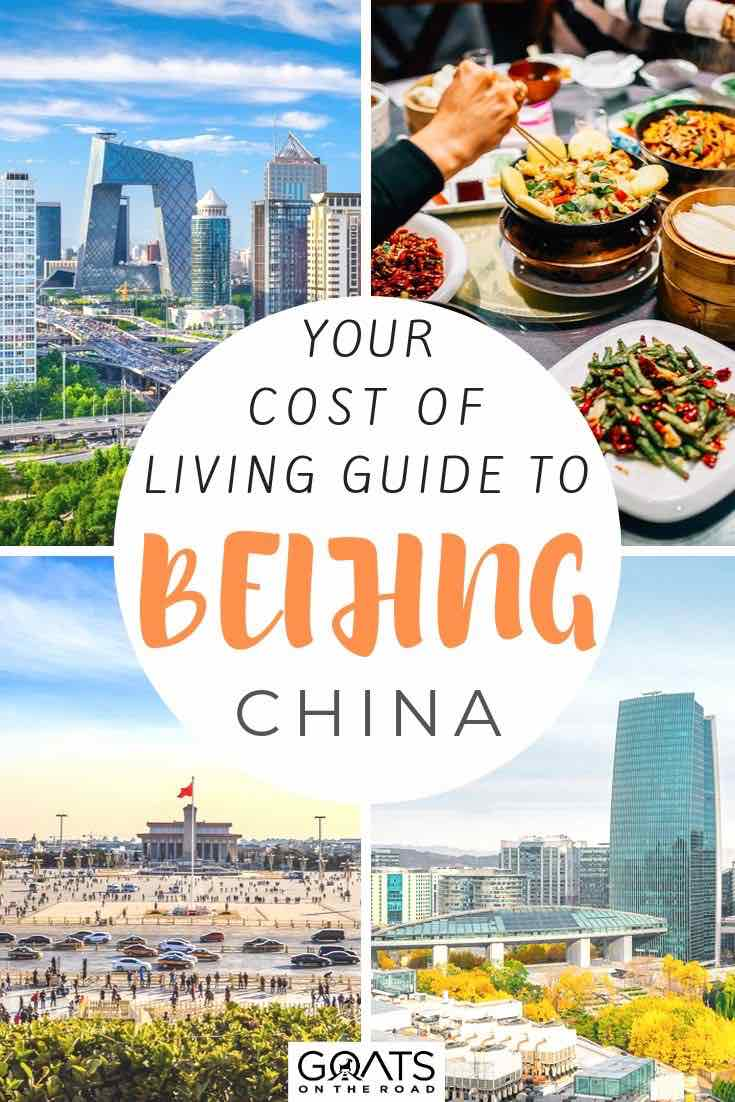 highlights of Beijing with text overly your cost of living guide