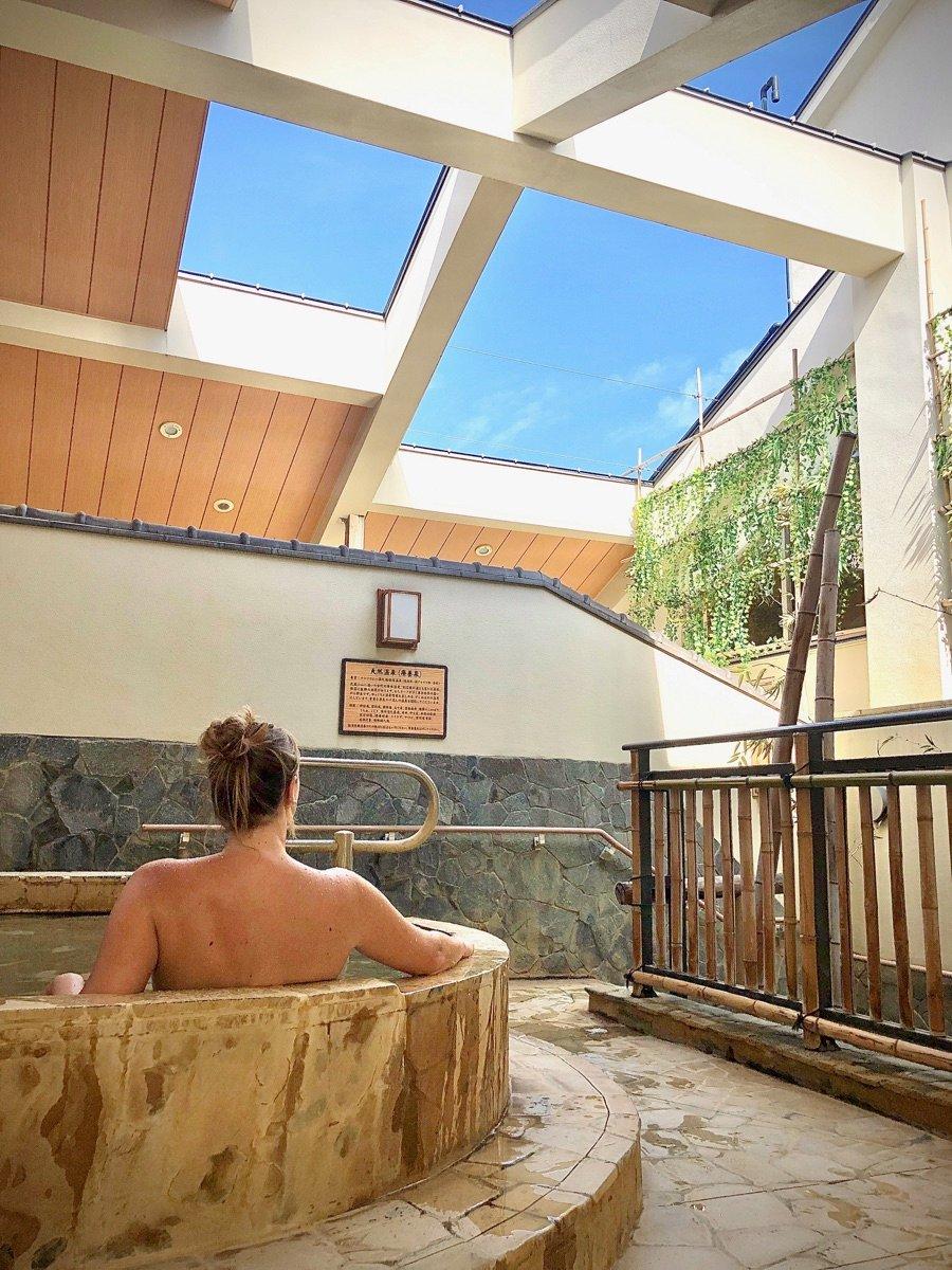 Japanese Outdoor Bath Musashi-Koyama