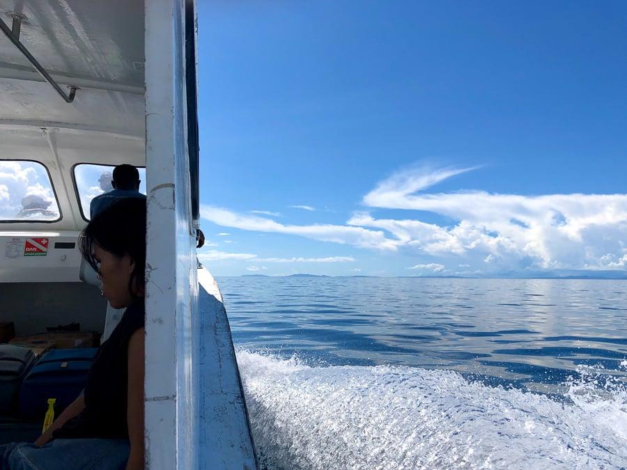 boat to raja ampat
