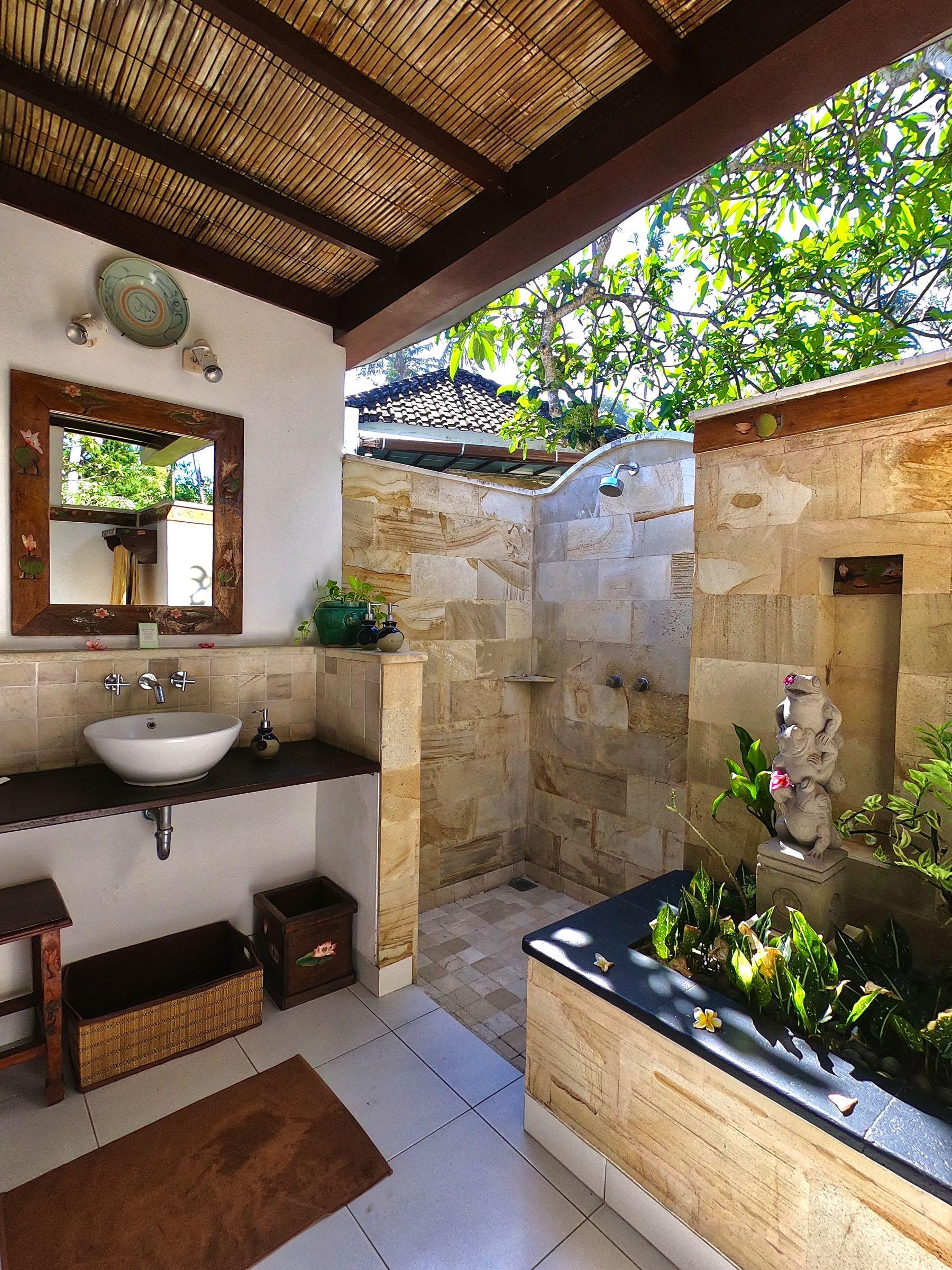 outdoor bathroom lotus bungalows