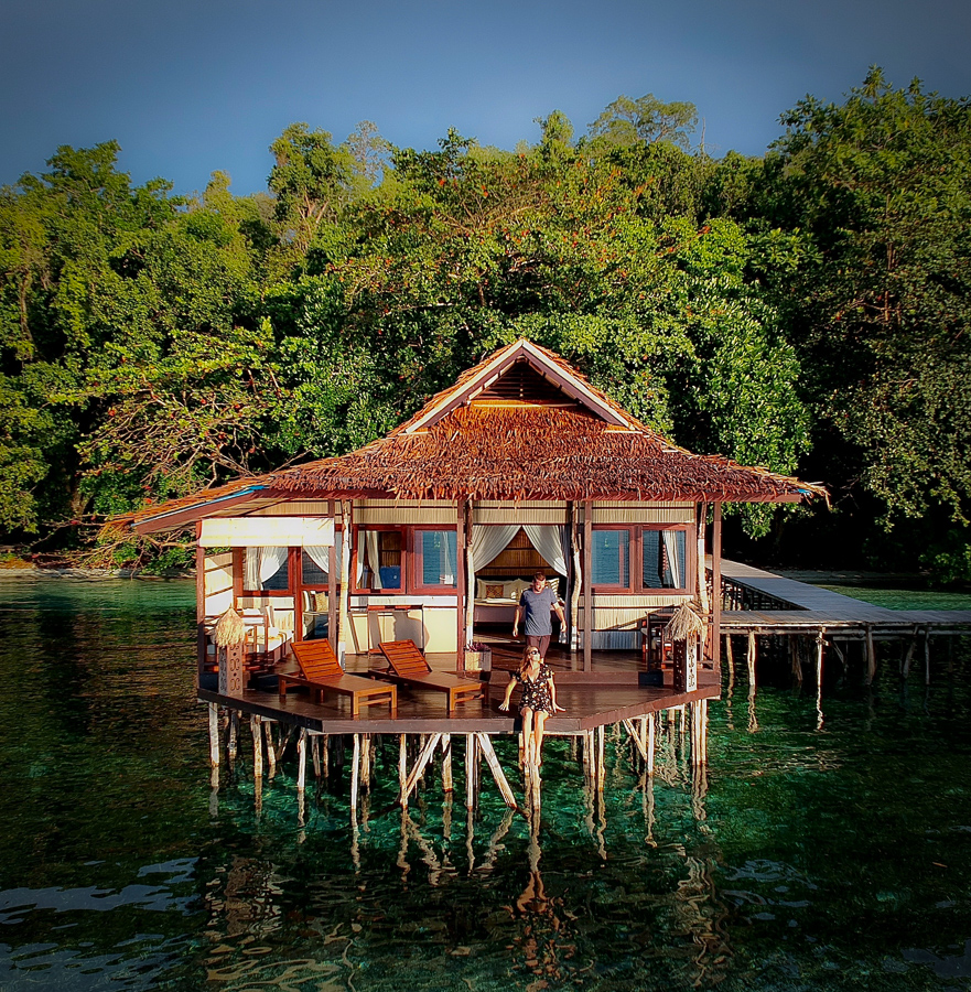 bungalow at papua paradise eco resort raja ampat