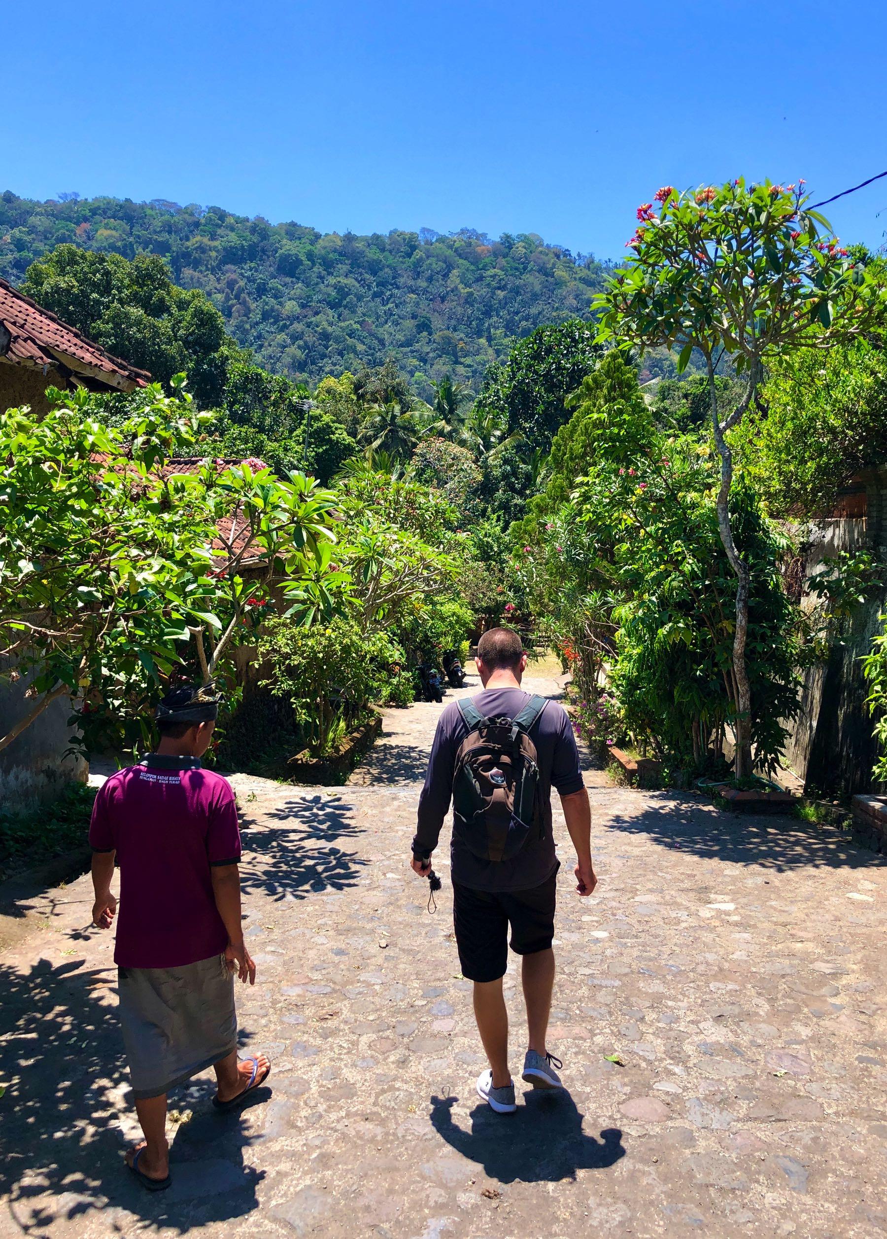 village of tenganan walking
