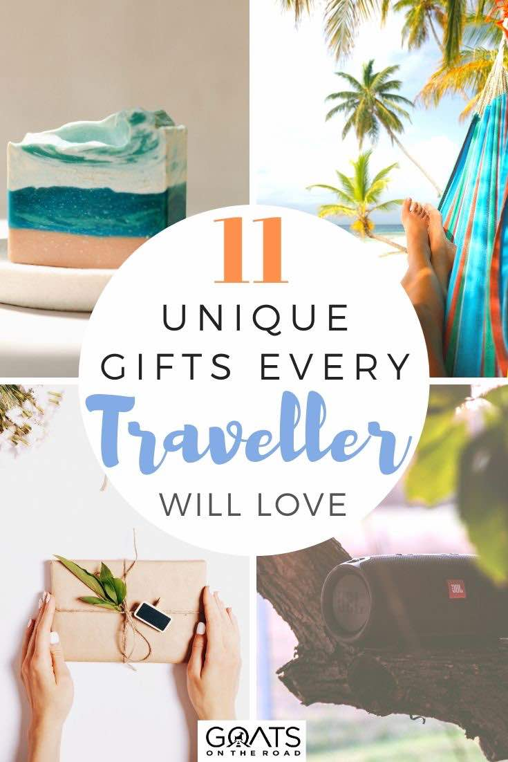 travel gifts with text overlay 11 unique gifts every traveller will love