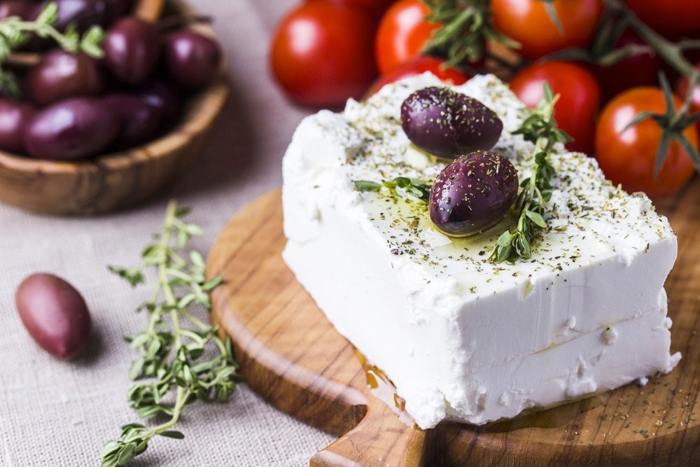 Feta Cheese Olive Greece Greek Food best food countries