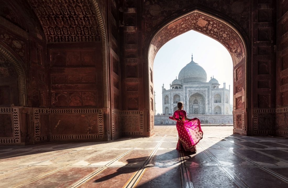 India Travel Featured Image Taj Mahal