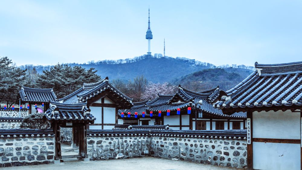 Namsangol Hanok Village seoul attractions