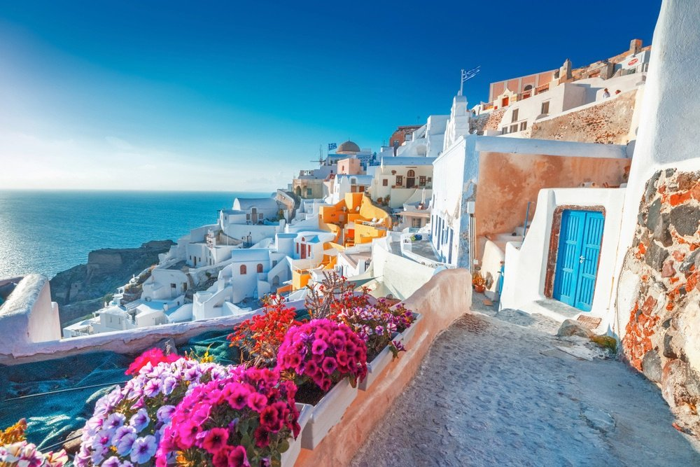 Santorini Greece Best Country To Visit