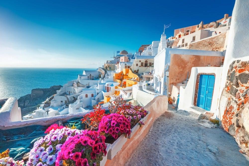 Santorini Greece best island for romance