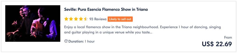flamenco tour in seville