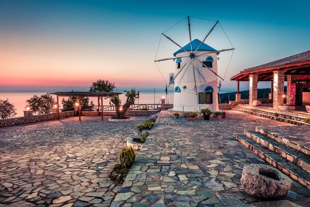 Windmill Zakynthos Greece