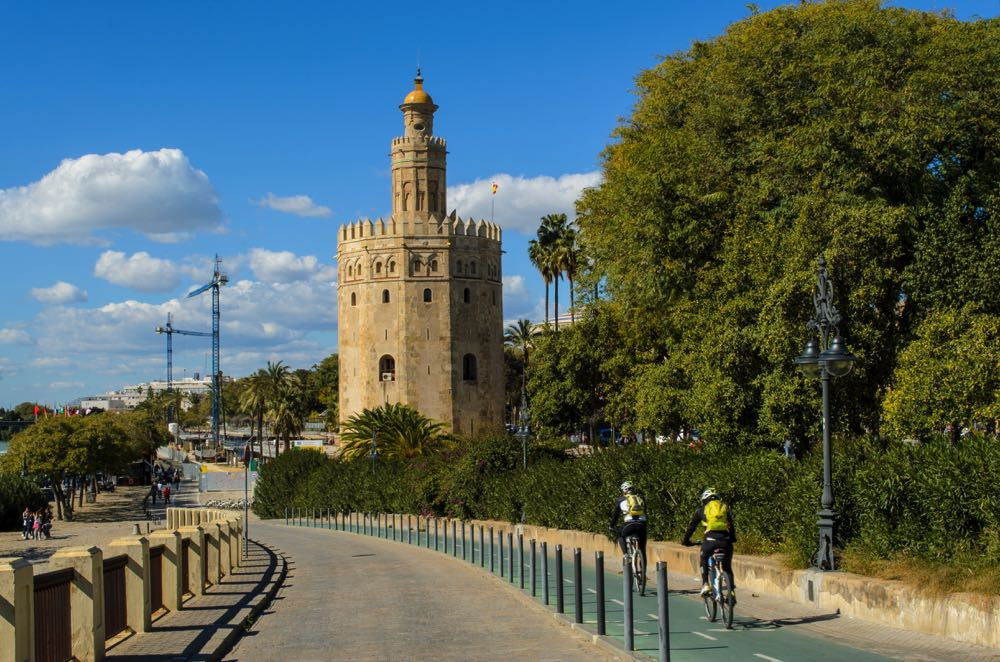 bike tour in seville is one of the best things to do