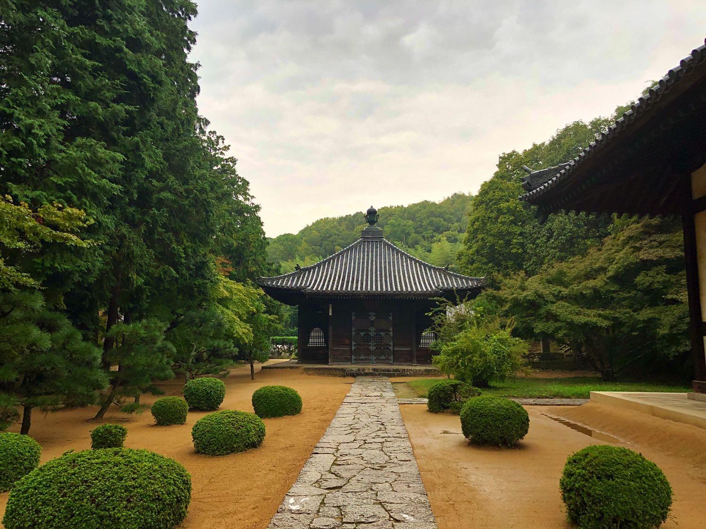 buddhist zen temple in okayama city