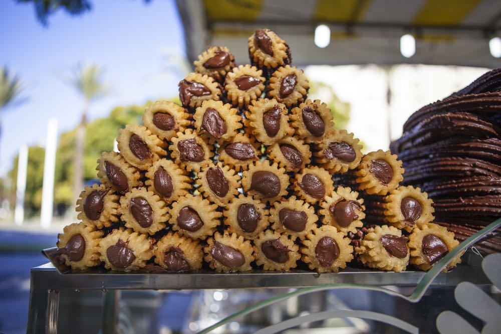 churros and chocolate in seville