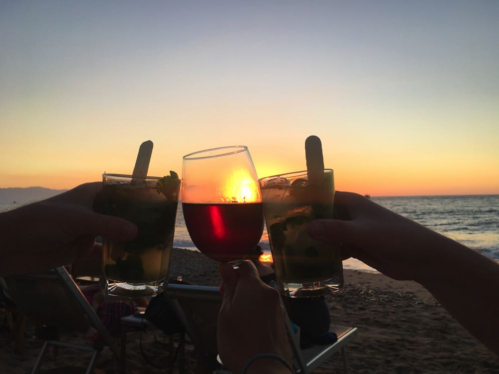 cocktails in puerto vallarta