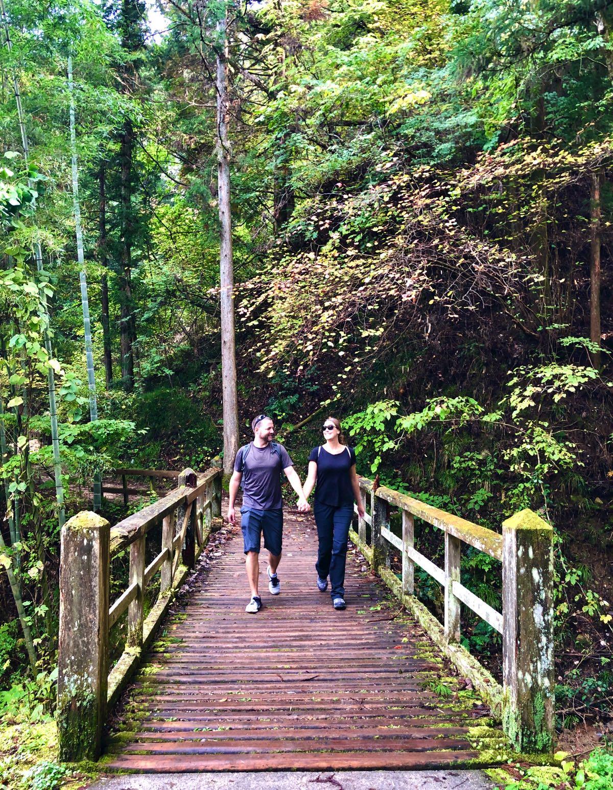 hiking nakasendo trail