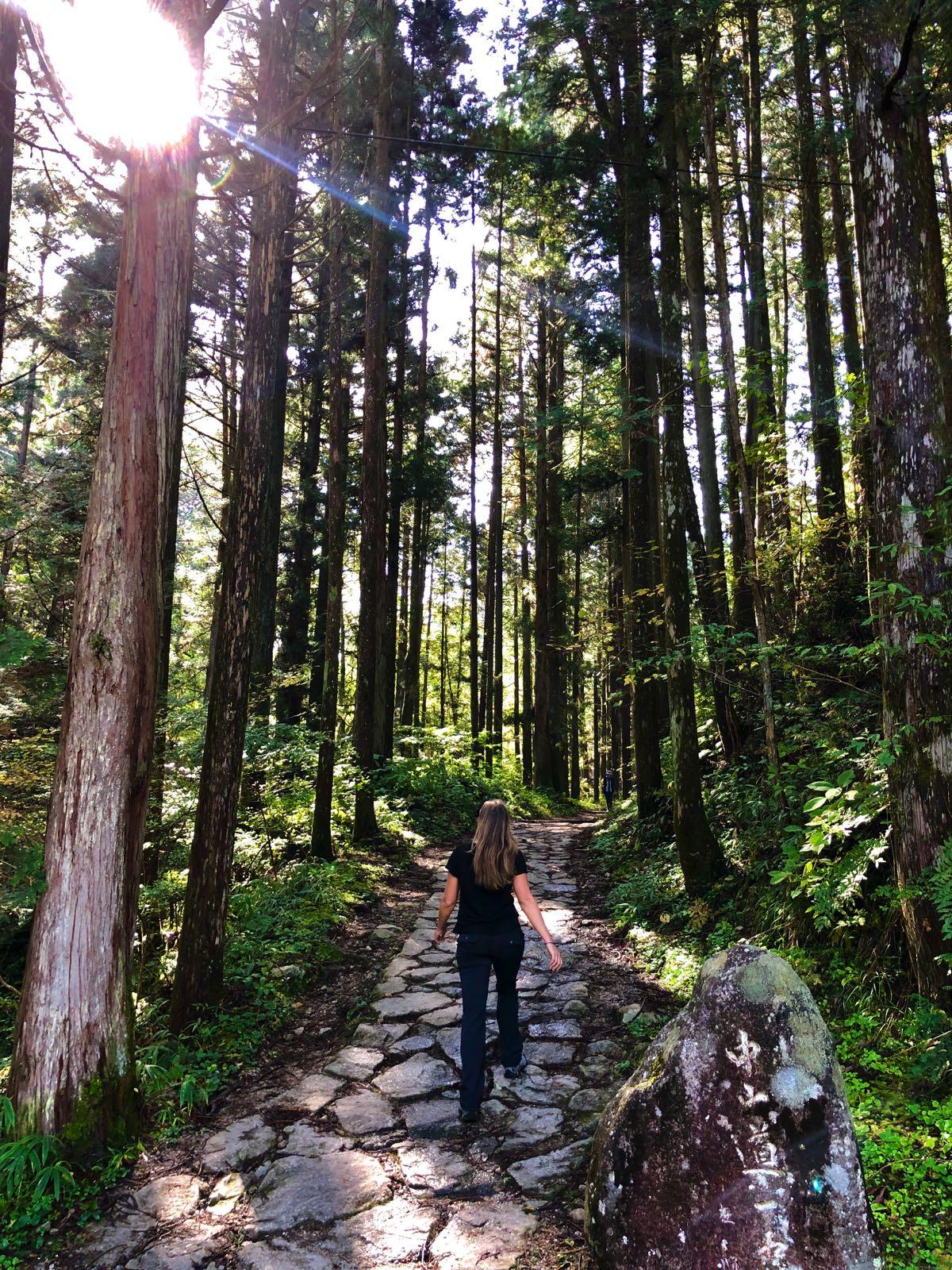 hiking the nakasendo trail