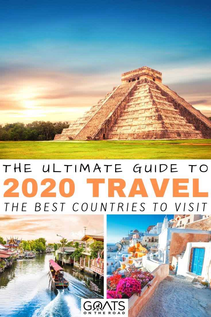 Mexico with text overlay the ultimate guide to 2020 travel