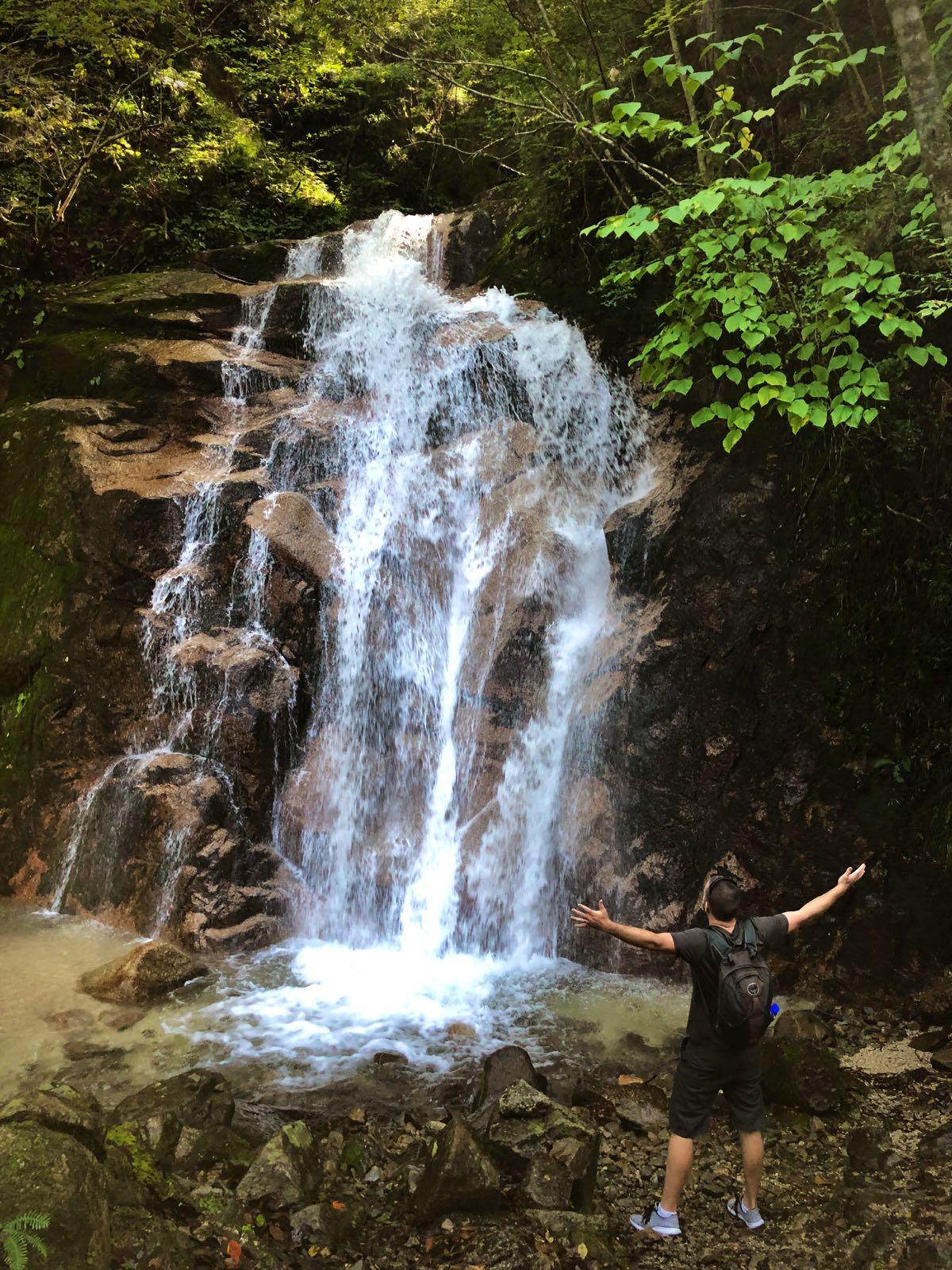 waterfall nakasendo way