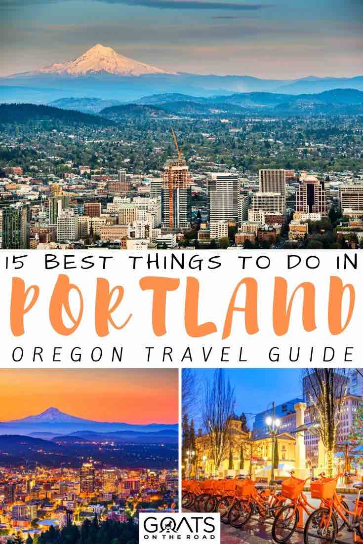 Portland view with text overlay 15 best things to do