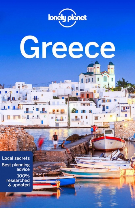 Lonely Planet Greece Travel Guide Book Cover