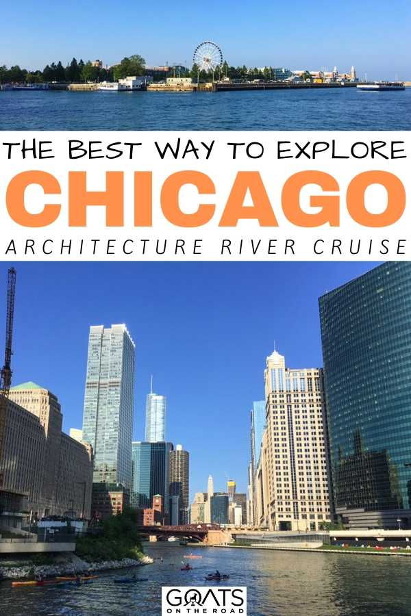 """""""The Best Way To Explore Chicago Architecture River Cruise"""
