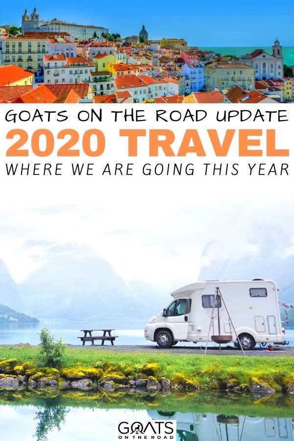 van life with text overlay goats on the road update 2020 travel
