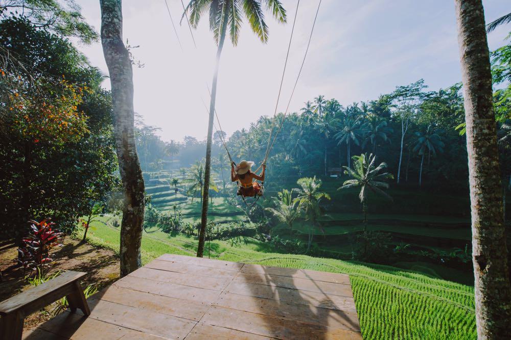 swing in bali