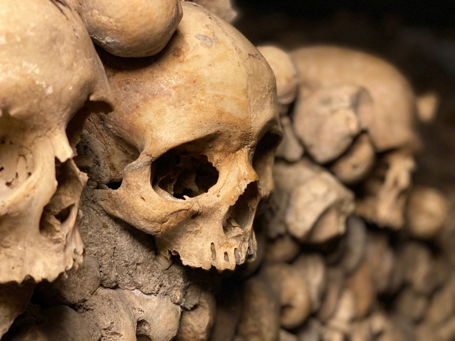 Catacombs one of the creepiest things to do in Paris