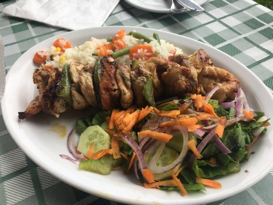 Chicken Meal at Lofos Restaurant