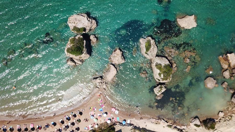 Porto Azzuro Aerial Shot