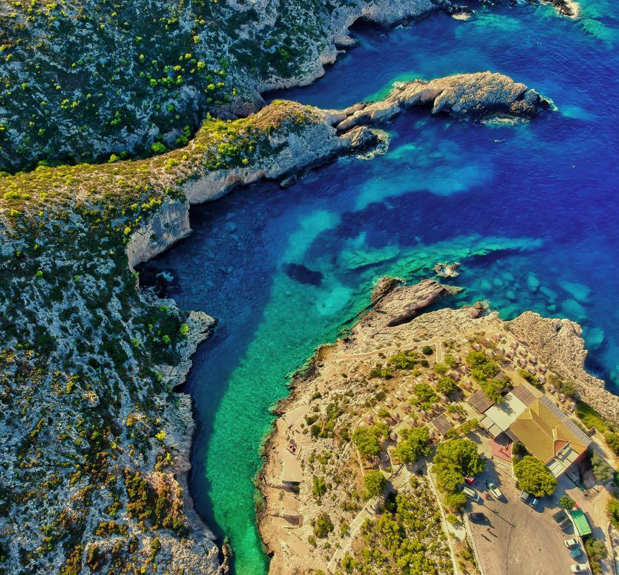 Porto Limnionas Cove