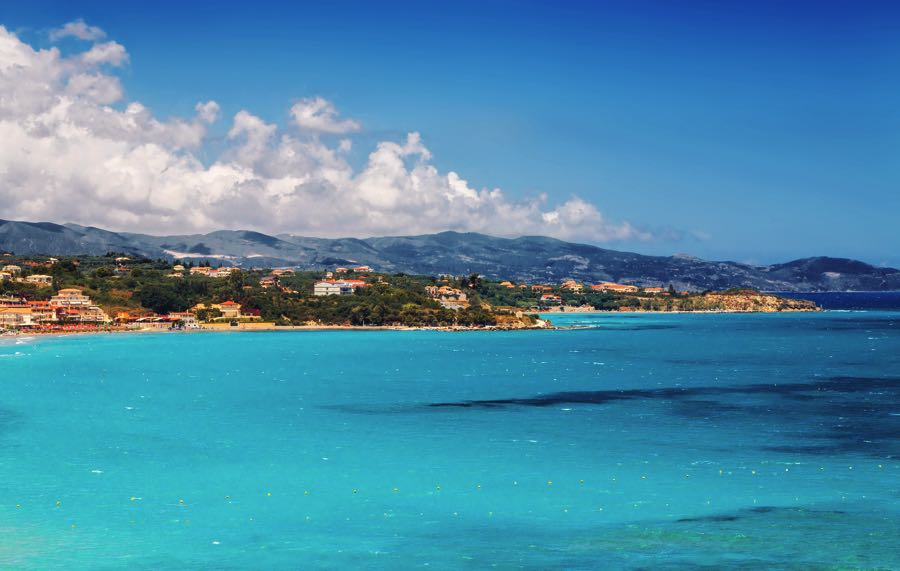 Tsilivi Beach Tsilivi Town Blue Water