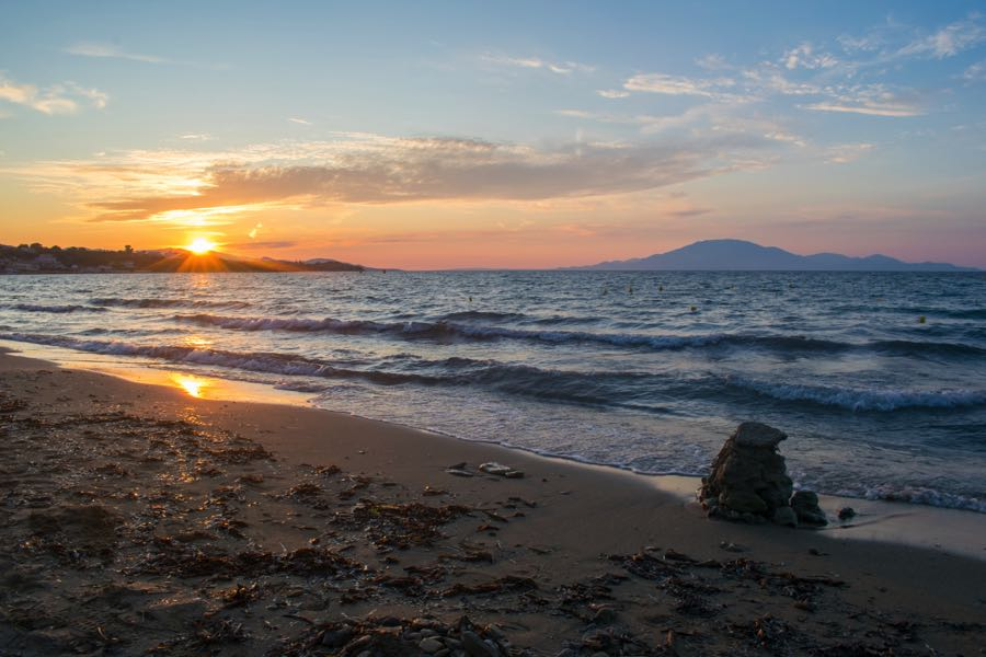 Tsilivi Zakynthos Sunset