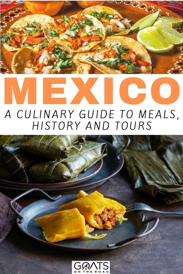 tacos with text overlay mexico a culinary guide