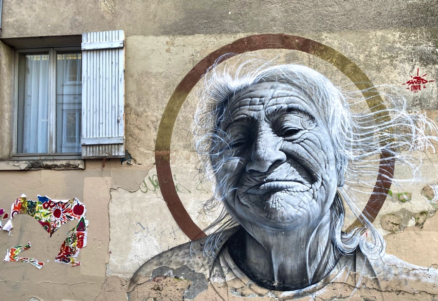 montmarte street art