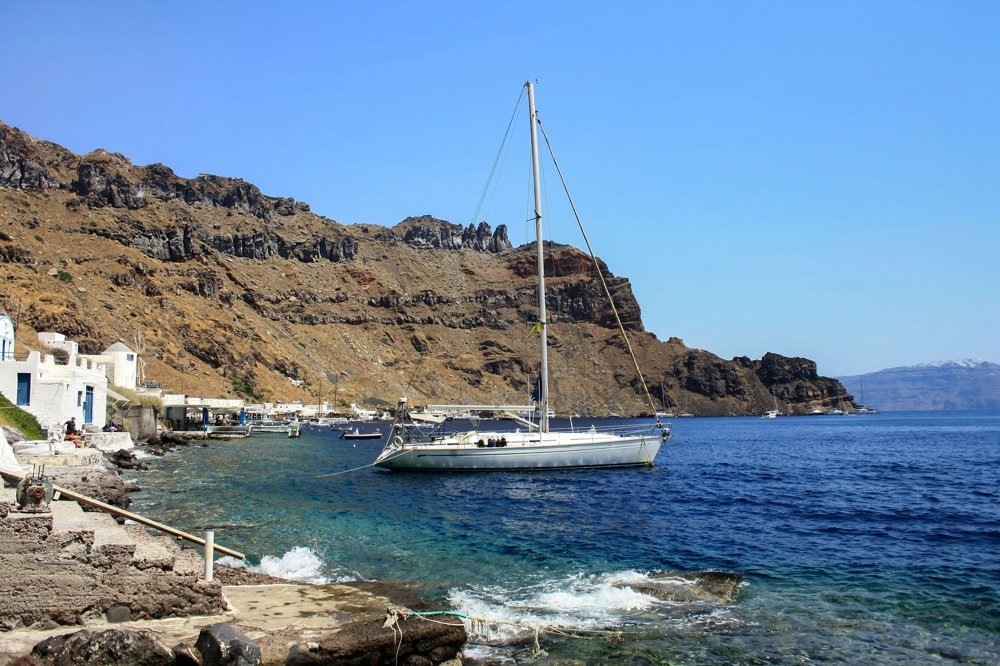 therassia island greece