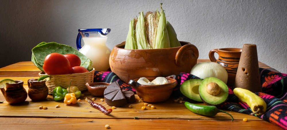 traditional mexican food ingredients