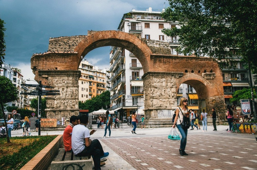 walking tour thessaloniki greece