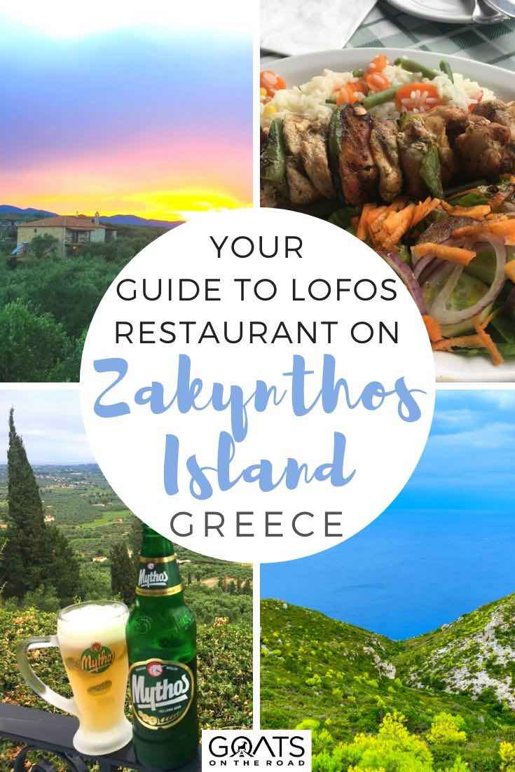 Zakynthos views with text overlay your guide