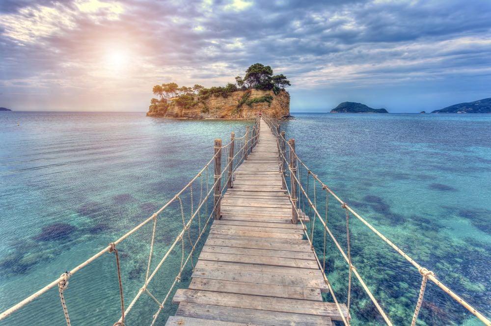 Beaches in Zakynthos Agios Sostis