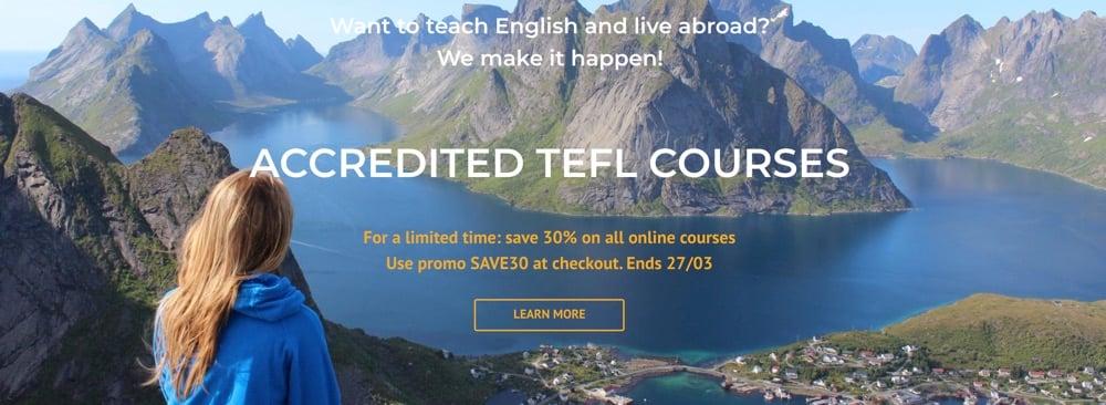 MyTefl course online