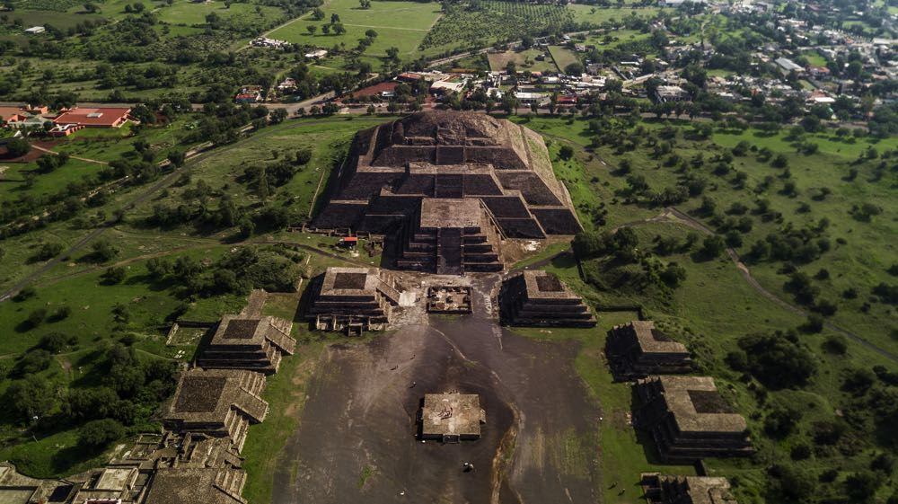 Teotihuacan day trips from mexico city