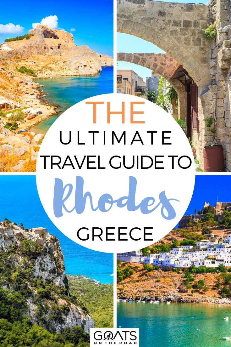 The Ultimate Travel Guide to Rhodes, Greece