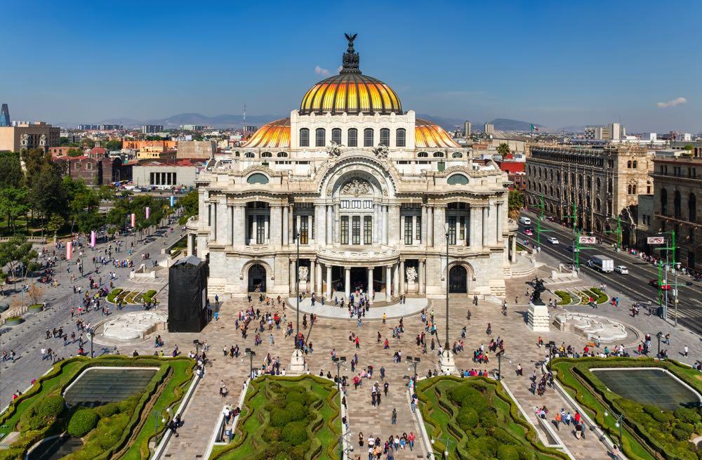 bellas artes mexico city tours