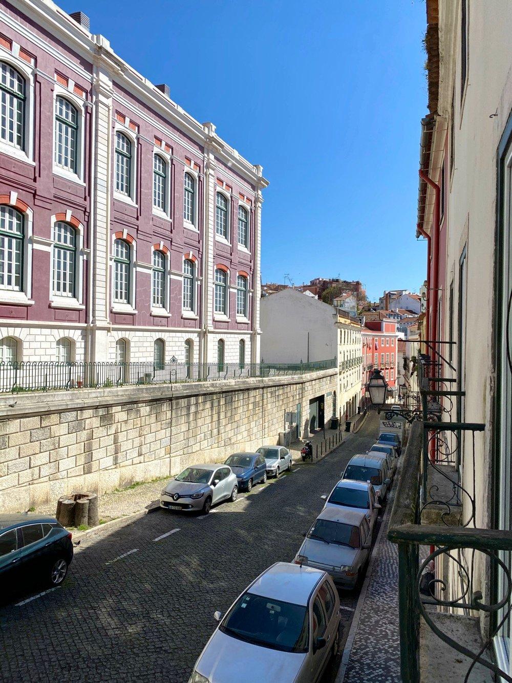 empty streets lisbon